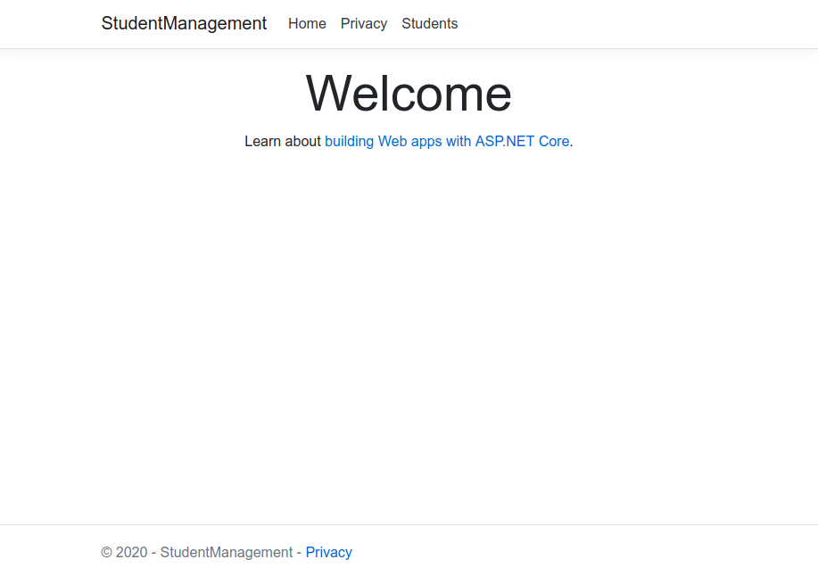 StudentManagement-Dashboard